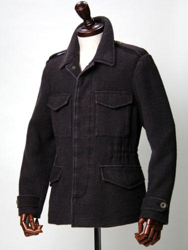 BOGLIOLI【ボリオリ】カシミア100% グレンチェックM65ジャケット