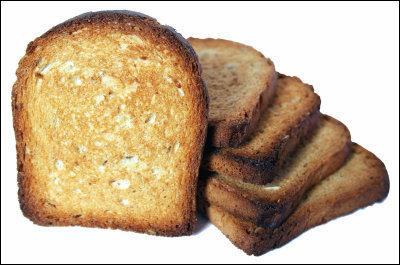 全粒粉のトースト