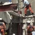 フラワーロード 解体中のビルの足場倒壊