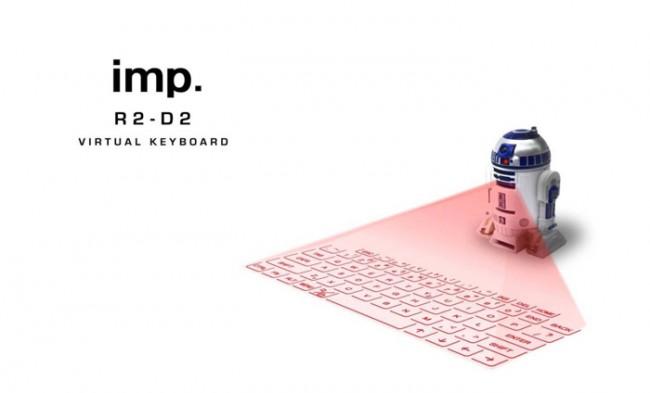 スターウォーズ R2D2 バーチャルキーボード