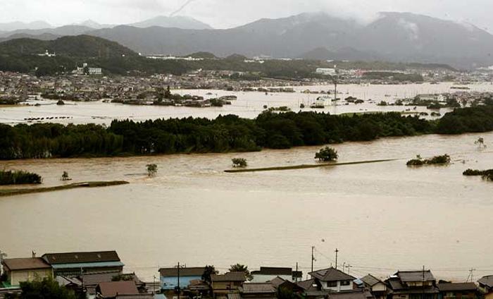 福知山 浸水 大雨