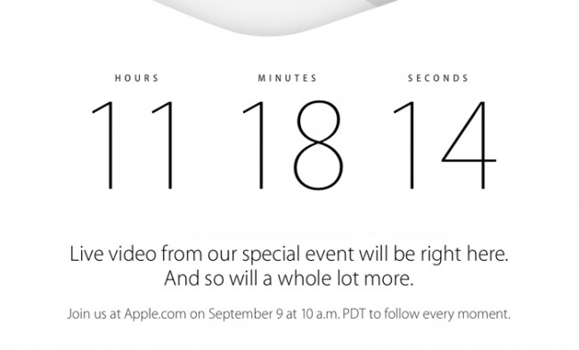 Apple イベント 2014年9月10日