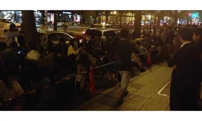 iPhone6 集団割り込み 中国人