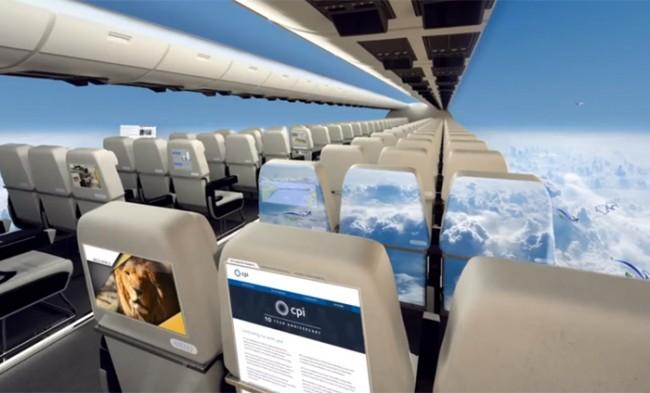 窓のない飛行機 イギリス