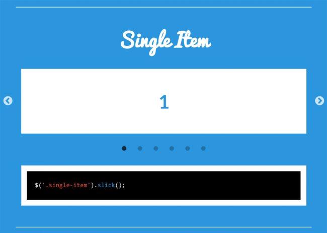 Slick Slider 画像単体のスライダー